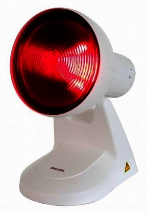 philips infralámpa